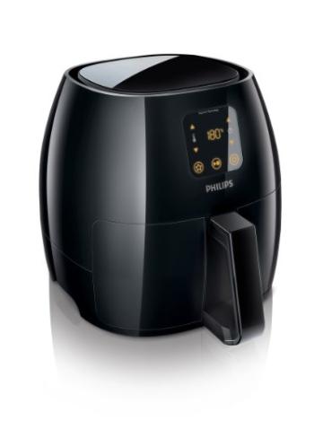 Philips HD9240/90 Airfryer XL Heißluftfritteuse, 2075 W - 2100 W, 1,2kg Kapazität, schwarz - 1