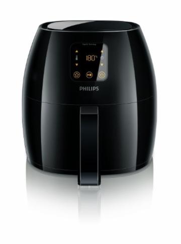 Philips HD9240/90 Airfryer XL Heißluftfritteuse, 2075 W - 2100 W, 1,2kg Kapazität, schwarz - 2