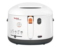 Tefal FF1631 Fritteuse One Filtra / 1.900 Watt / wärmeisoliert/ 1,2 kg Fassungsvermögen / weiß/anthrazit - 1