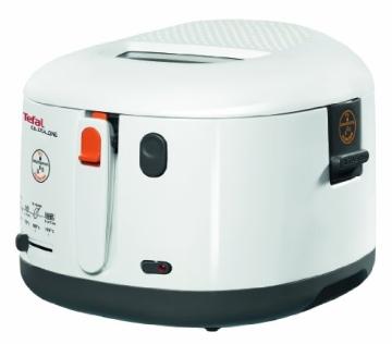 Tefal FF1631 Fritteuse One Filtra / 1.900 Watt / wärmeisoliert/ 1,2 kg Fassungsvermögen / weiß/anthrazit - 2